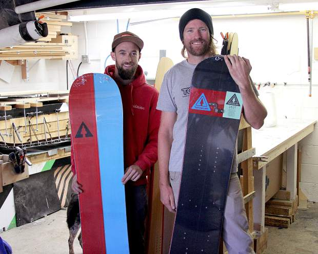 Lee Collins (right) and Abe Greenspan are the founder of TahoeLab.