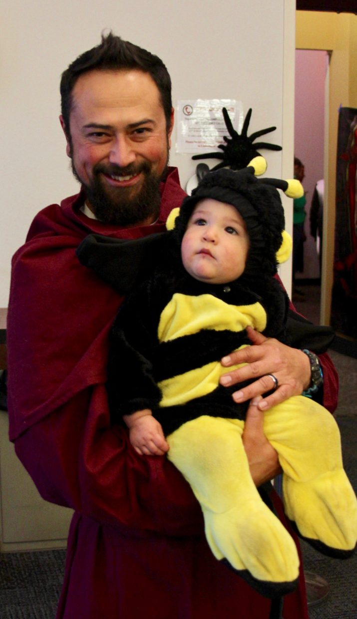 The 2017 Treat Street included plenty of costumes and candy. The annual trick-or-treating event was held at Lake Tahoe Community College on Tuesday, Oct. 31.