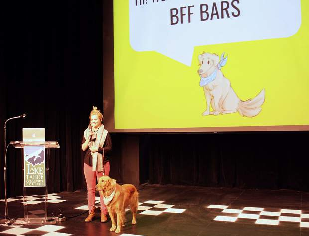 Darcy Boles was inspired to create BFF Bars, a power bar made for humans and safe for dogs, thanks to her pup Blanch.