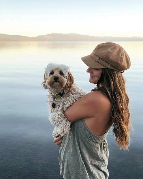 Tahoe sunsets with my No. 1 gal.