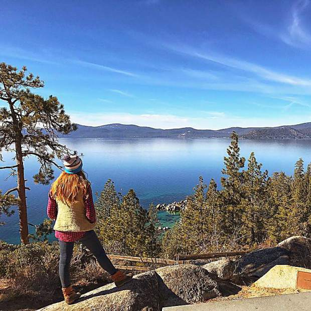 Had an unbelievable 6 days in Tahoe, and could absolutely stare at this lake forever.