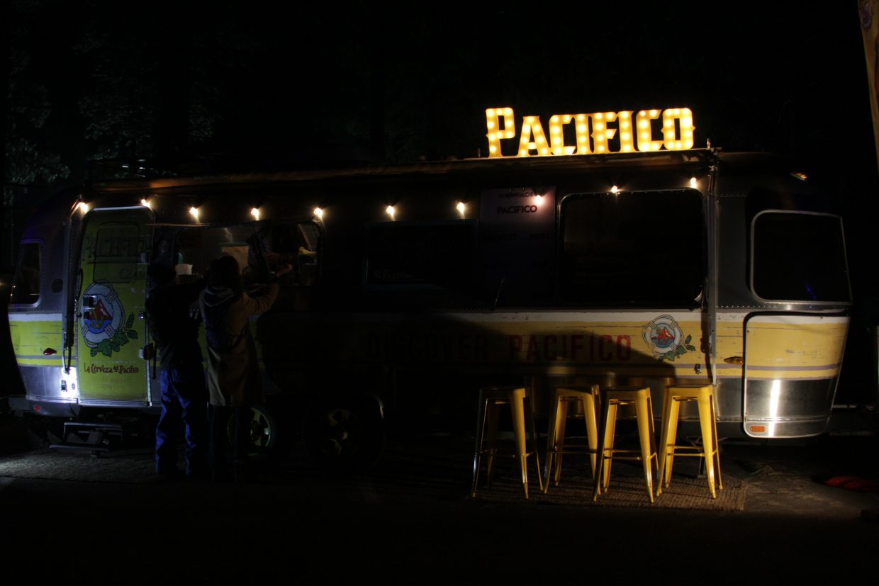 Pacífico, a Mexican pilsner-style beer, is one of several vendors at this year's SnowGlobe.