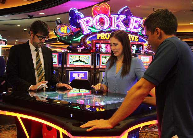 Harrah's Lake Tahoe is the first casino in Northern Nevada to feature Gamblit Gaming's new skill-based video game tables.