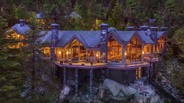 This Tahoe estate hit the market for $75 million.