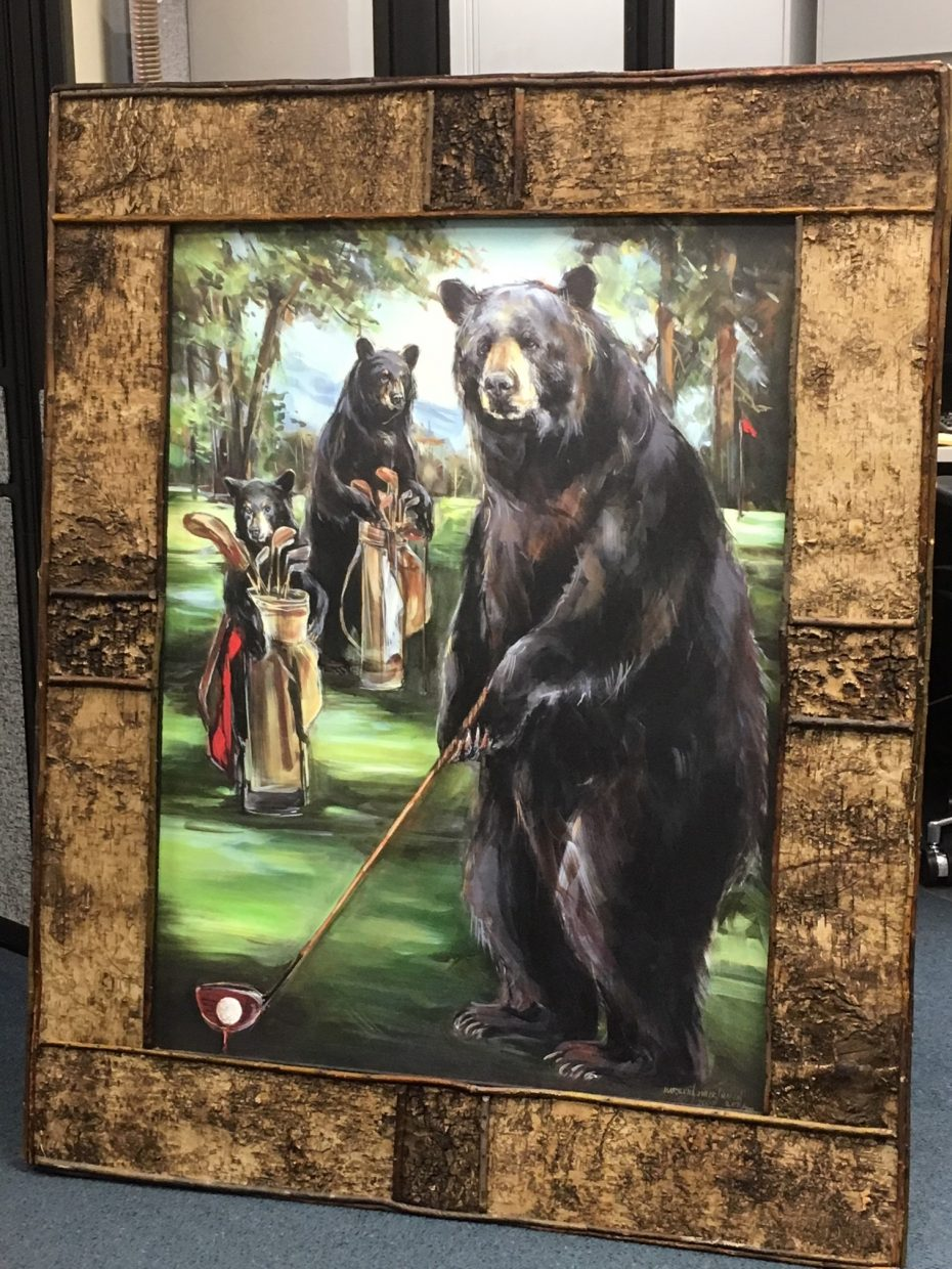 Authorities recover painting stolen from South Lake Tahoe ...