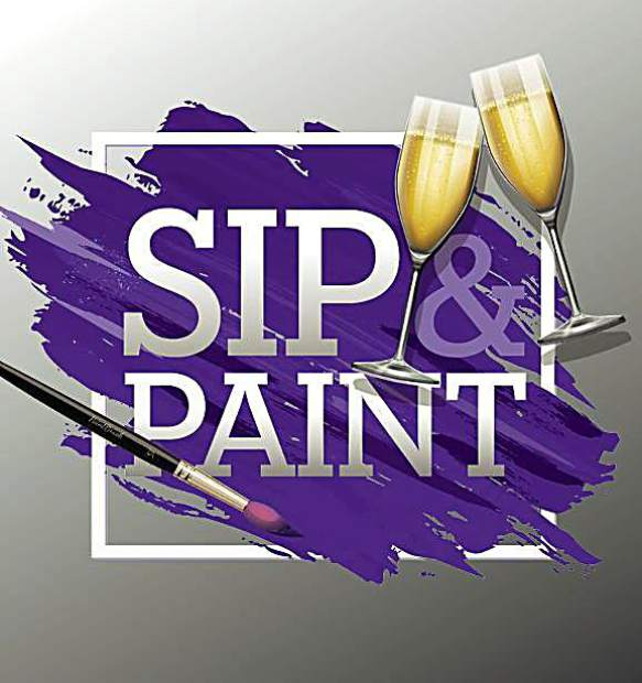 Hard Rock Hotel And Casino Hosts Sip Amp Paint In Vinyl
