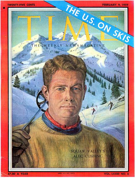 The 1969 issue of TIME Magazine honored Alex Cushing's success at securing the Olympics.