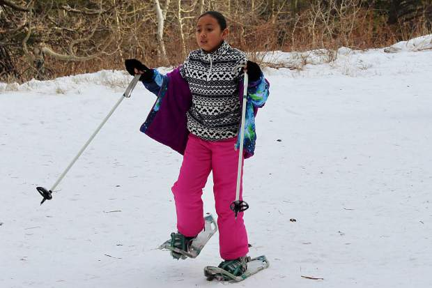 Snowshoes were used by the Washoe Tribe in the winter to travel to the American River to collect salmon.