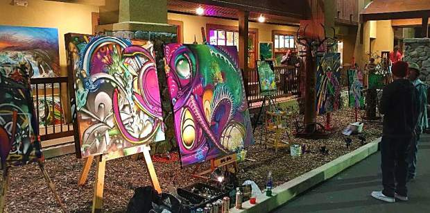 Benko Art Gallery is ramping up live painting exhibitions in 2018.