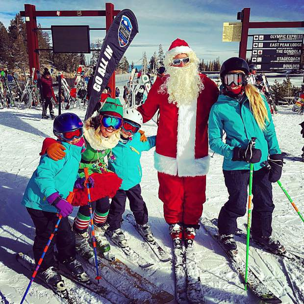 Ski with Santa, Elfie and Rudolph!