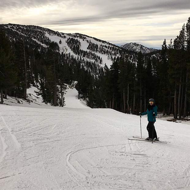 Finally got my skis out! First turns of the season.