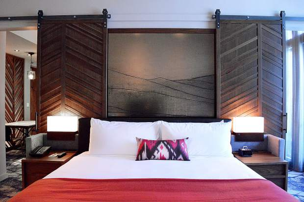The new lodge has 154 luxury rooms and suites.