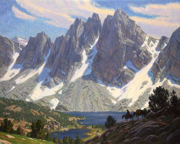 Sierra Cathedral by Charles Muench
