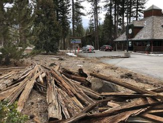 Traditional Washoe structure destroyed in Incline Village
