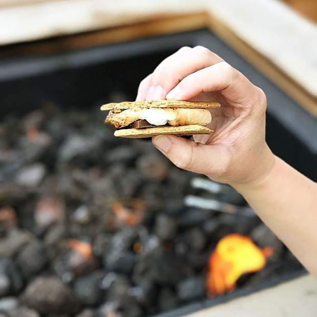 Anytime is a good time for s'mores.