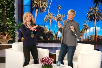 Video: Lake Tahoe Olympian Jamie Anderson on 'The Ellen DeGeneres Show'
