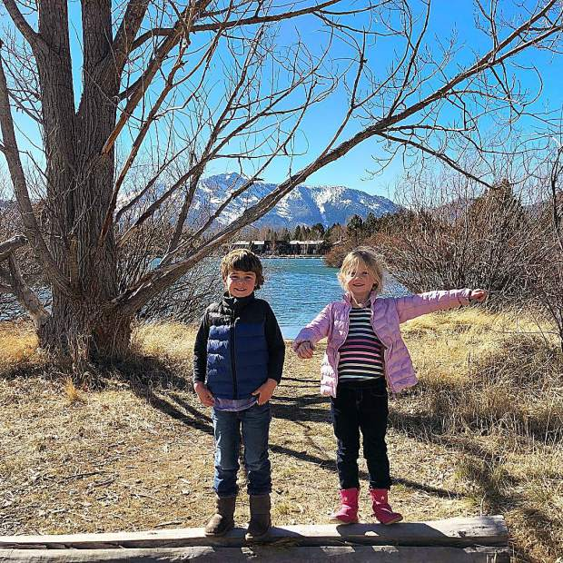 Love these two little adventurers!