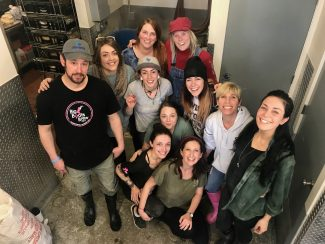 Cold Water Brewery's female employees make special brew for International Women's Day