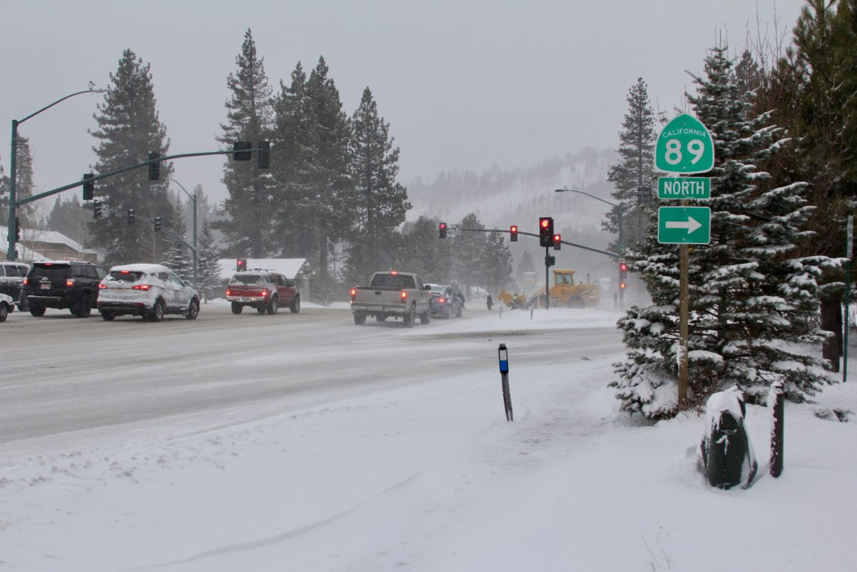 Highway 89 and Highway 50, along with several smaller highways, had chain controls in place during Thursday's storm.