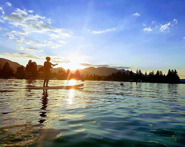 Spring is here! Who is excited about water sports? We love taking our SUP out on the lake.