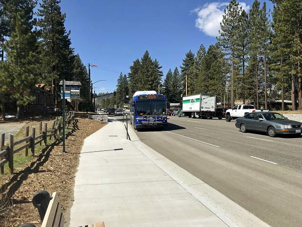 US 50 reconstruction project phase 2 in South Lake Tahoe underway