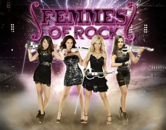 Classic rock meets the violin in Femmes of Rock's Stateline gig