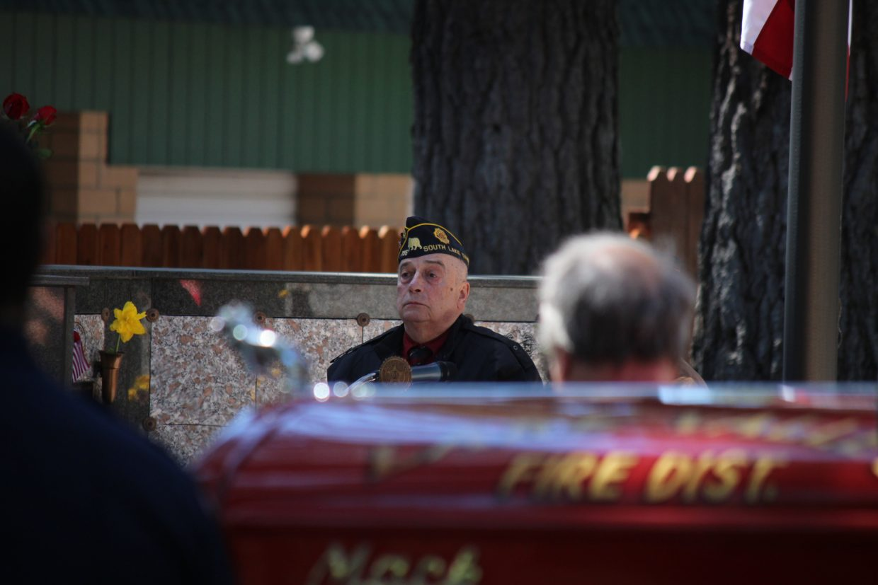 More than 100 people attended a Memorial Day ceremony in South Lake Tahoe Monday, May 28.
