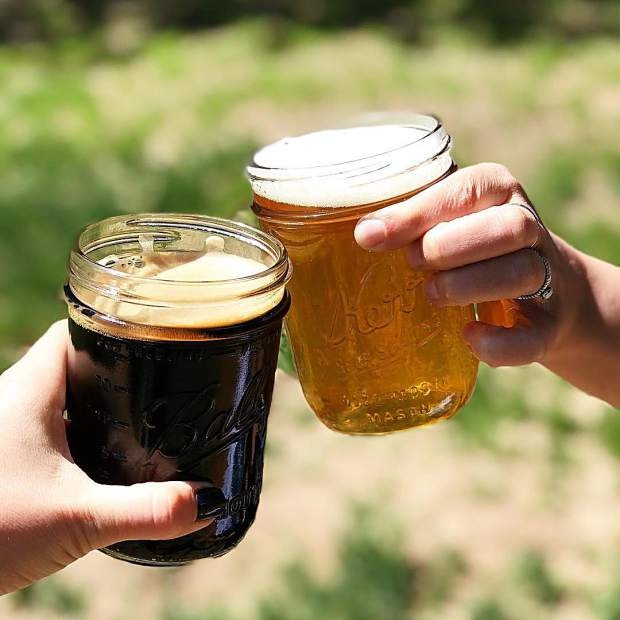 Cheers to the weekend! And to craft beer! And to sunshine!