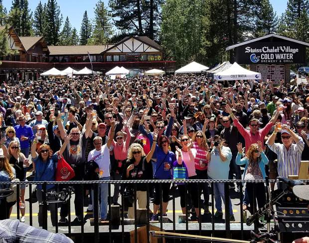 The inaugural Tahoe Brewfest was held at Swiss Chalet Village. This year the event moves to a new venue: Heavenly Mountain Resort's California Lodge.