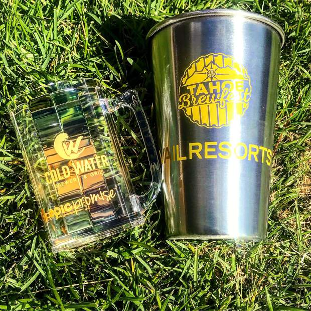 General admission ticketholders will receive a 5-oz. commemorative tasting cup, and VIP ticketholders receive a stainless steel pint glass.