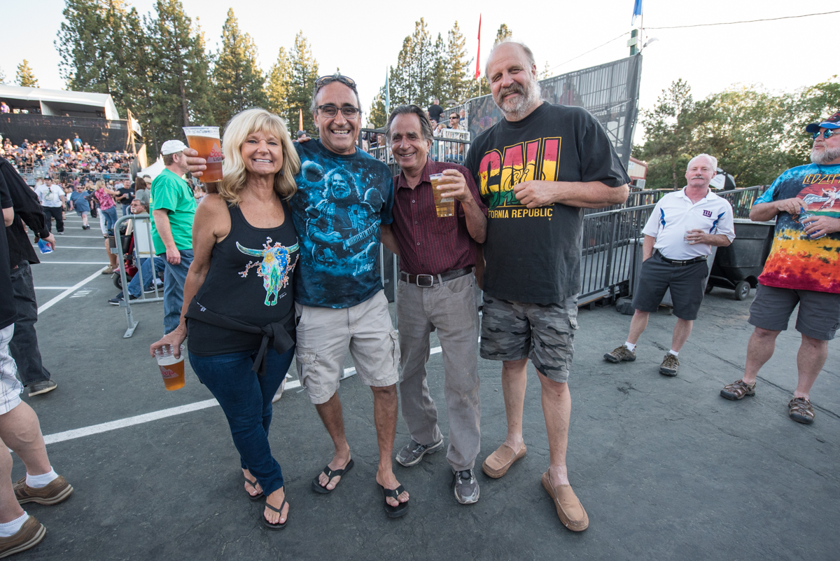 North Tahoe residents visiting the South Shore to see Robert Plant and the Sensational Space Shifters perform at the Harveys Lake Tahoe outdoor concert venue on Saturday, June 23.
