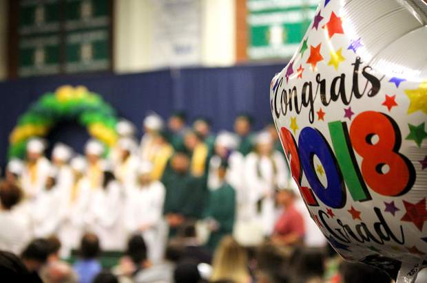 Incline High School graduated its 2018 class Wednesday, June 13, in the gymnasium.