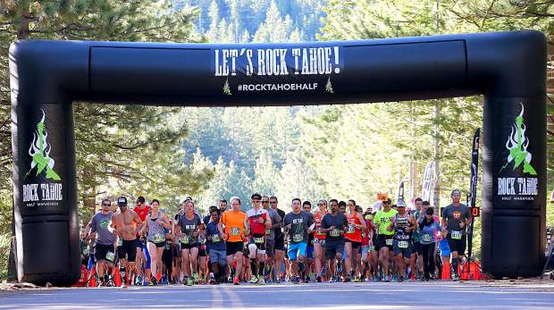 4th annual Rock Tahoe Half Marathon set for Saturday on Lake