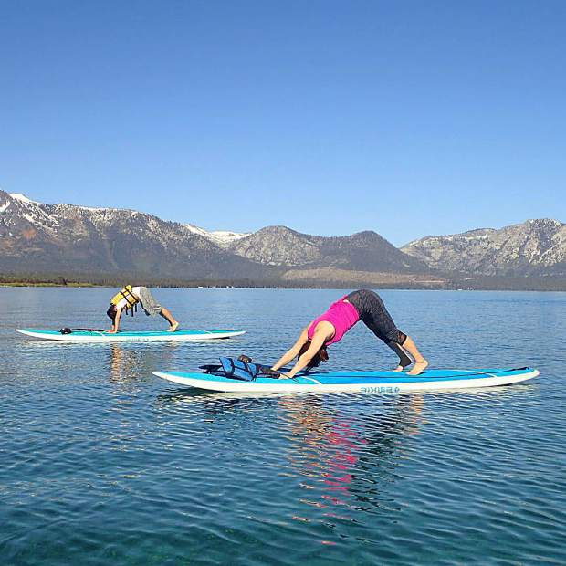 Discovering divinity in Tahoe one downward dog at a time.