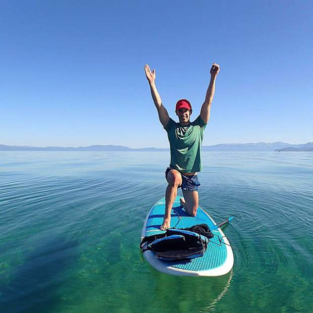 Tag #divinityintahoe with your moments of divinity and be entered to win Paddle Yoga!