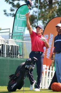 'Spring break for grown-ups': ACC's 17th hole cranks celebrity golf tournament to 11