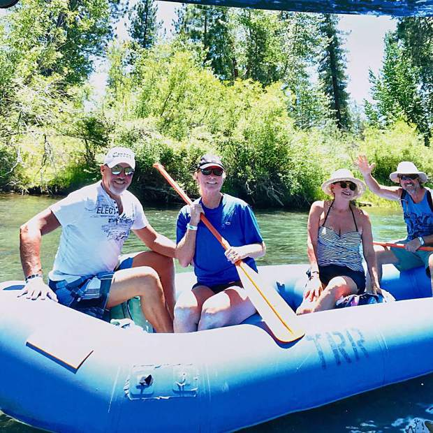 Fabulous day on the Truckee River.