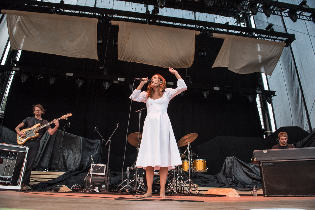 WET performing ahead of Florence + the Machine at the Harveys Lake Tahoe outdoor concert venue on Thursday, Aug.10.