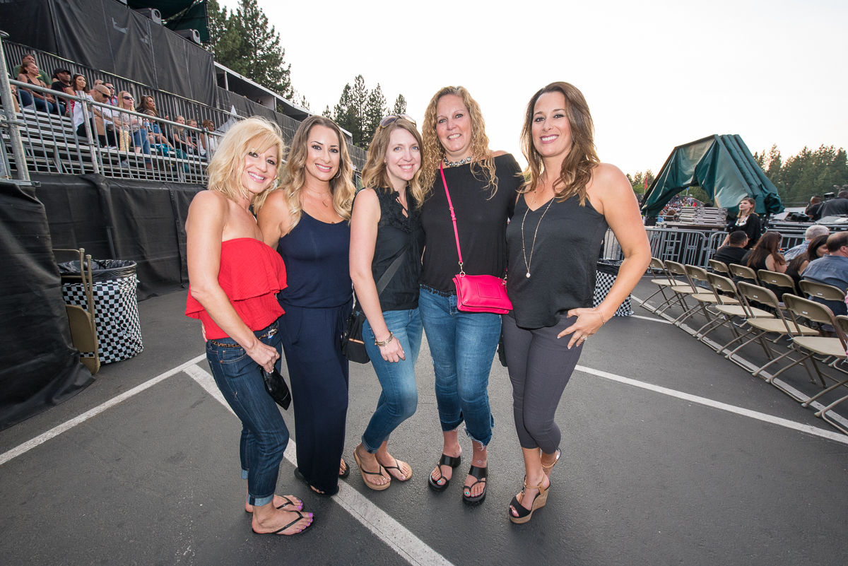 Fans waiting to see Janet Jackson take the stage at the Harveys Lake Tahoe outdoor concert venue on Friday, Aug. 11.
