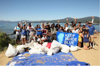 Volunteers needed for annual Keep Tahoe Red, White and Blue Beach Cleanup on July 5