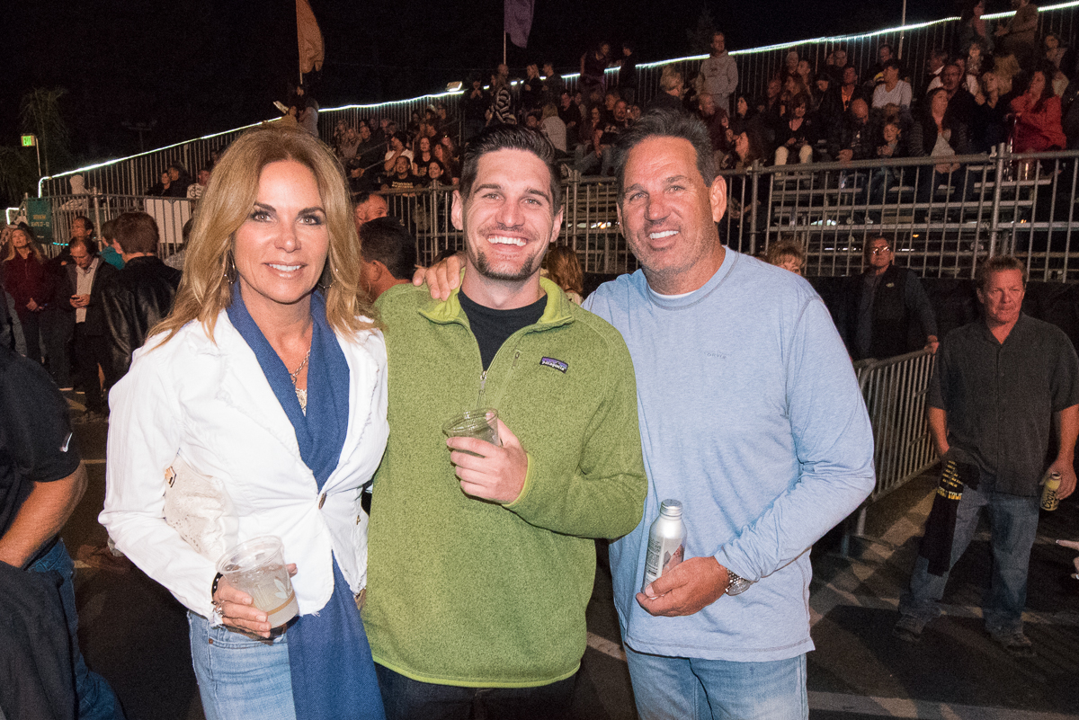 Fans waiting to see The Scorpions take the stage with special guest Queensryche at the Harveys Lake Tahoe outdoor concert venue on Friday, Aug. 31.
