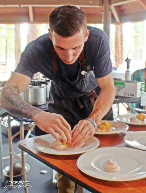 Patrick Harrity, executive chef at Cold Water Brewery & Grill, is the defending Sierra Chef Challenge champion.