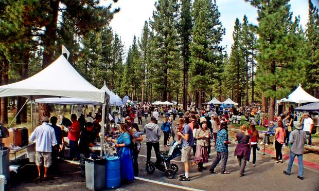 The ninth annual Sample the Sierra festival returns Saturday, Sept. 15.