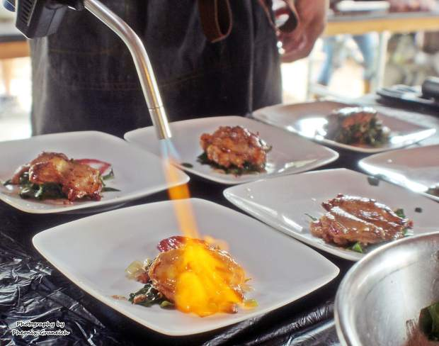 The Sierra Chefs Challenge features four local chefs facing off in a culinary contest.