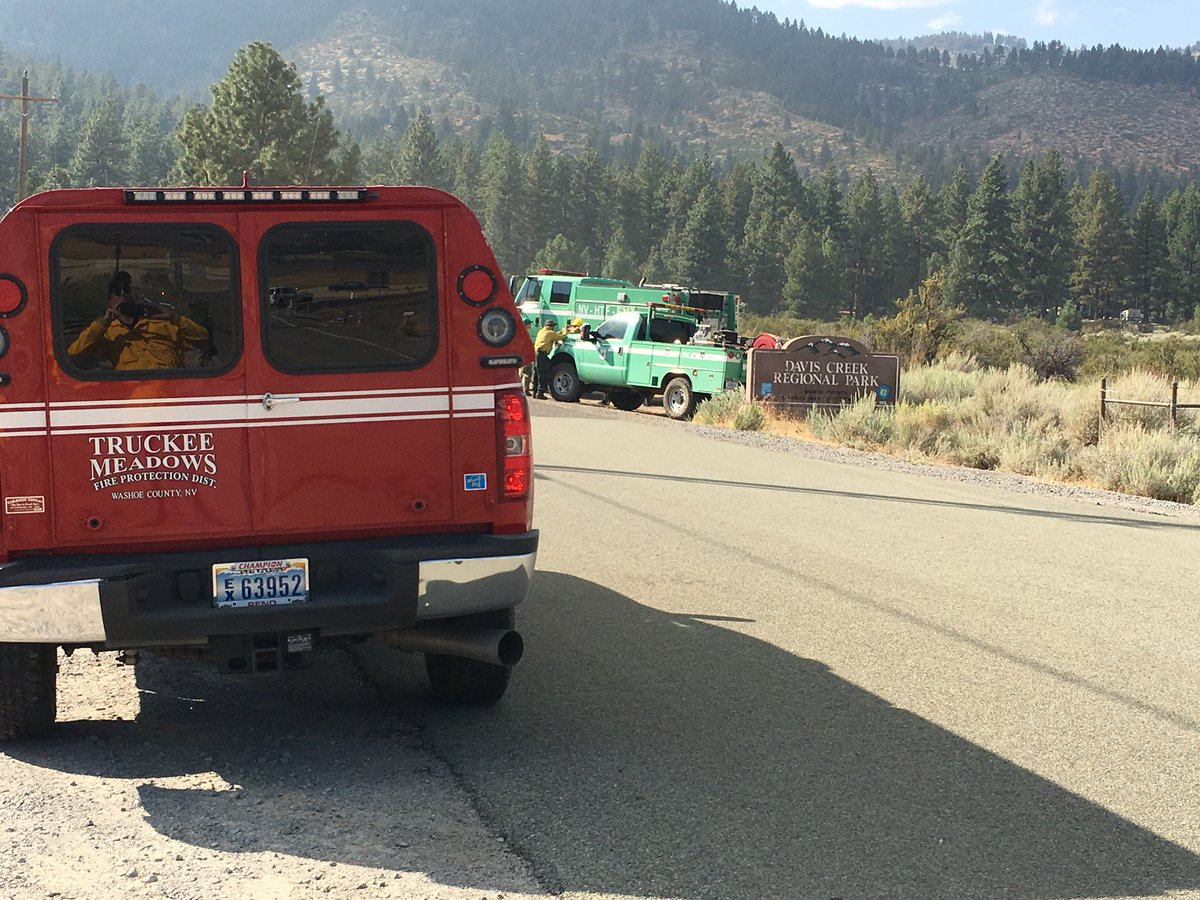 The Slide Fire is 10 percent contained as of Monday, Sept. 3, morning.