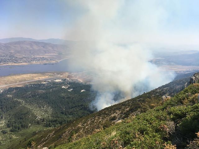 The Slide Fire is 10 percent contained as of Monday morning.