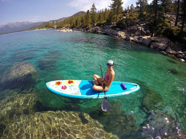 Paddle time Tahoe