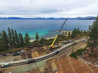 Overnight closure on Nevada Route 28 at Lake Tahoe canceled tonight