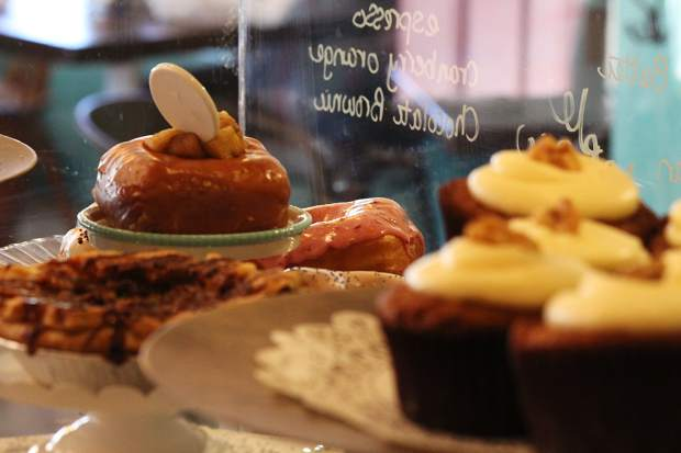 All the baked goods at Crazy Good Bakery and Café are made fresh.