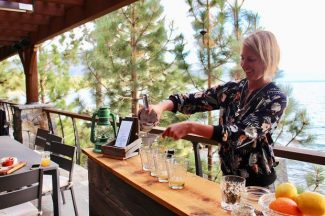 Mobile bar creates cocktails with ingredients foraged from Tahoe